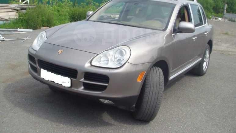 Porsche Cayenne, 2004 год, 1 080 000 руб.