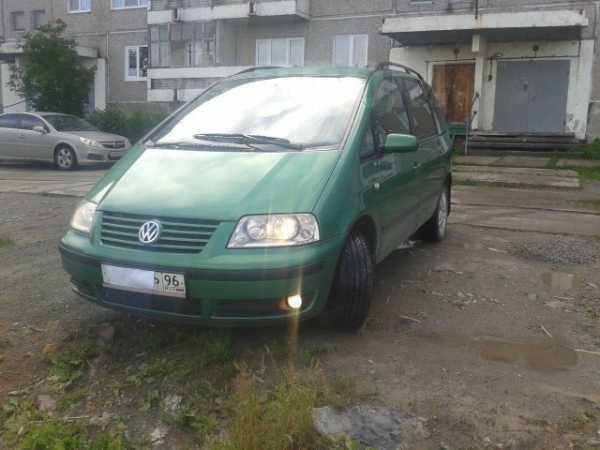 Volkswagen Sharan, 2001 год, 350 000 руб.