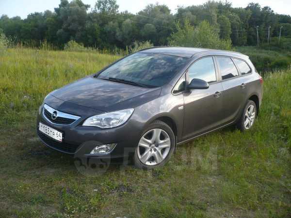 Opel Astra, 2012 год, 655 000 руб.