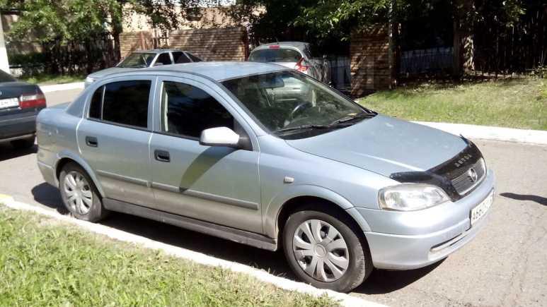 Opel Astra, 2001 год, 195 000 руб.
