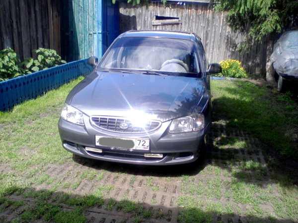 Hyundai Accent, 2004 год, 185 000 руб.