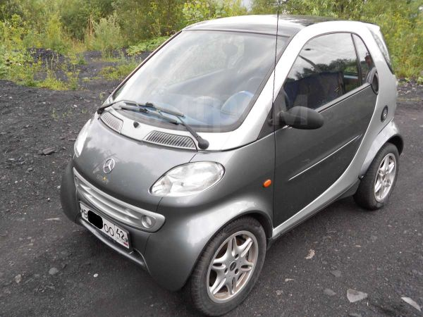 Smart Fortwo, 2000 год, 245 000 руб.