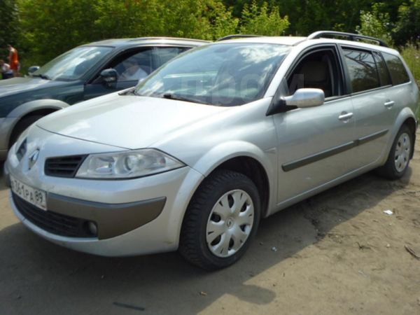 Renault Megane, 2007 год, 350 000 руб.