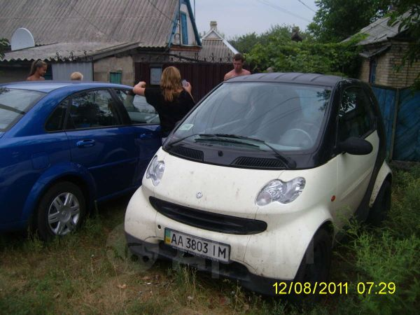 Smart Fortwo, 2004 год, 240 000 руб.