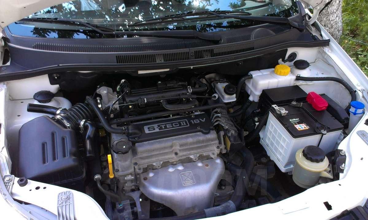 chevrolet aveo 2009 двигатель цепной