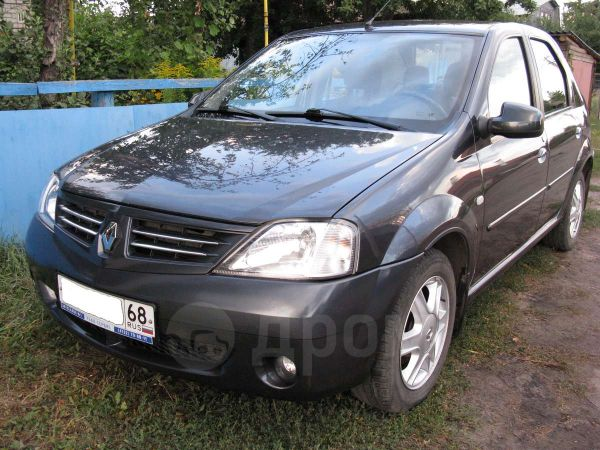 Renault Logan, 2008 год, 295 000 руб.