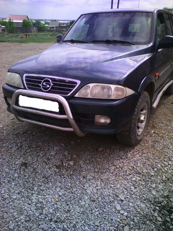 SsangYong Musso, 2000 год, 250 000 руб.