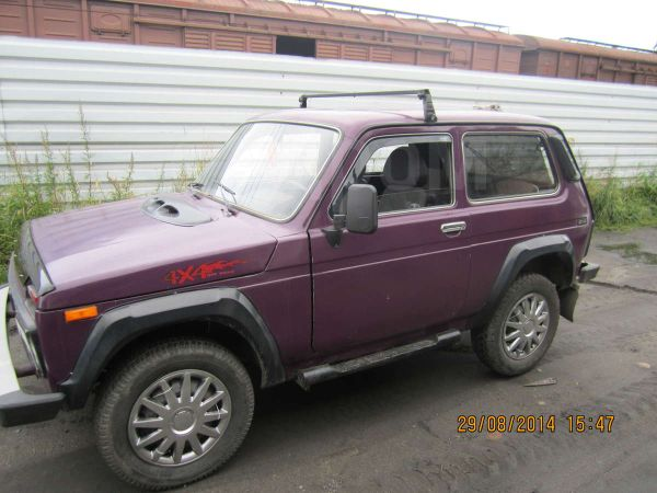 Лада 4x4 2121 Нива, 2003 год, 140 000 руб.