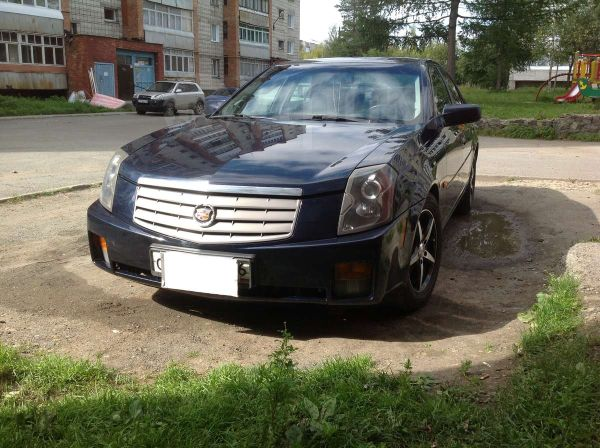 Cadillac CTS, 2003 год, 490 000 руб.