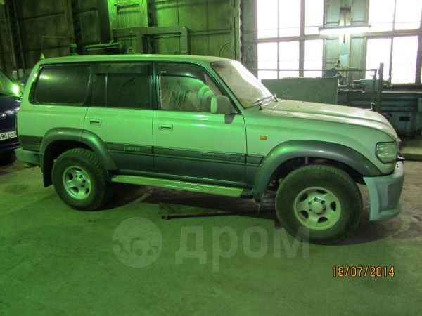 Toyota Land Cruiser, 1995 год, 830 000 руб.