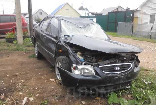 Hyundai Accent, 2007 год, 25 000 руб.
