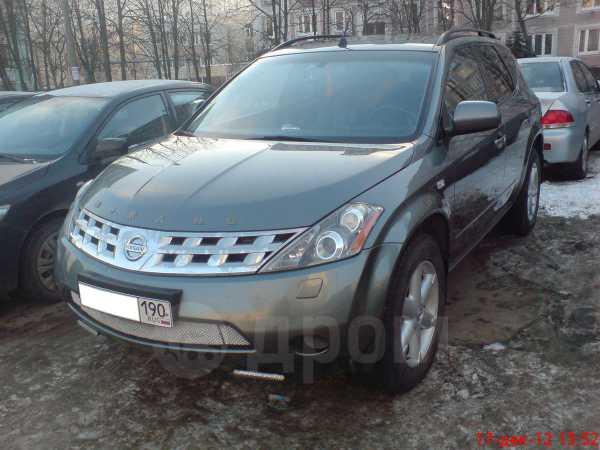 Nissan Murano, 2005 год, 620 000 руб.