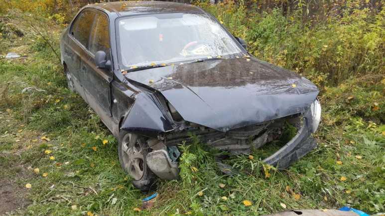 Hyundai Accent, 2008 год, 120 000 руб.
