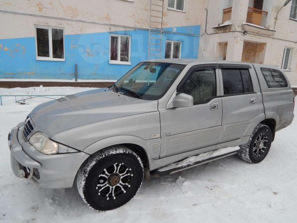 SsangYong Musso Sports, 2005 год, 395 000 руб.