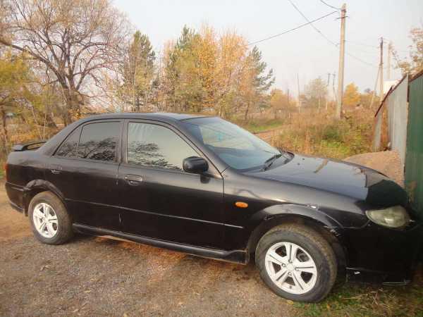 Mazda 323, 2003 год, 100 000 руб.