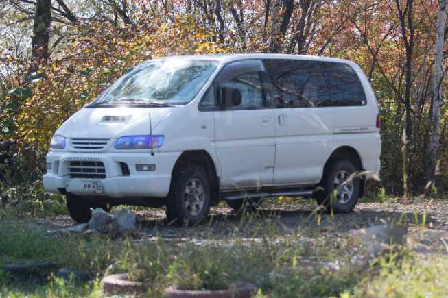 Mitsubishi Delica, 2001 год, 555 000 руб.