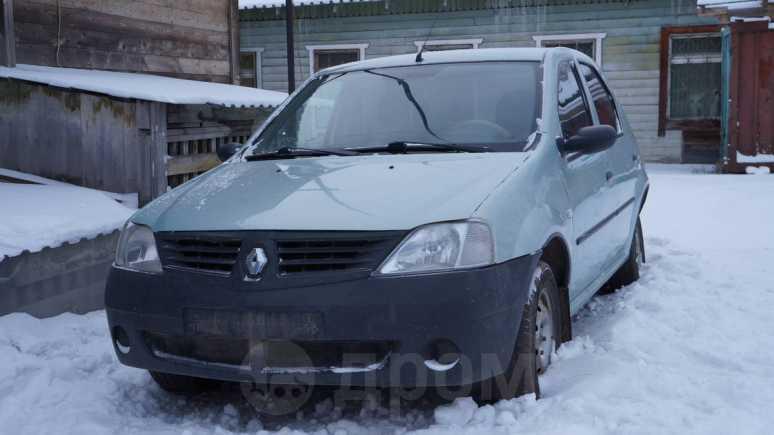 Renault Logan, 2006 год, 128 000 руб.