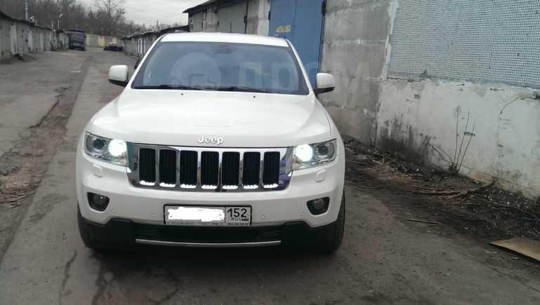 Jeep Grand Cherokee, 2012 год, 1 630 000 руб.