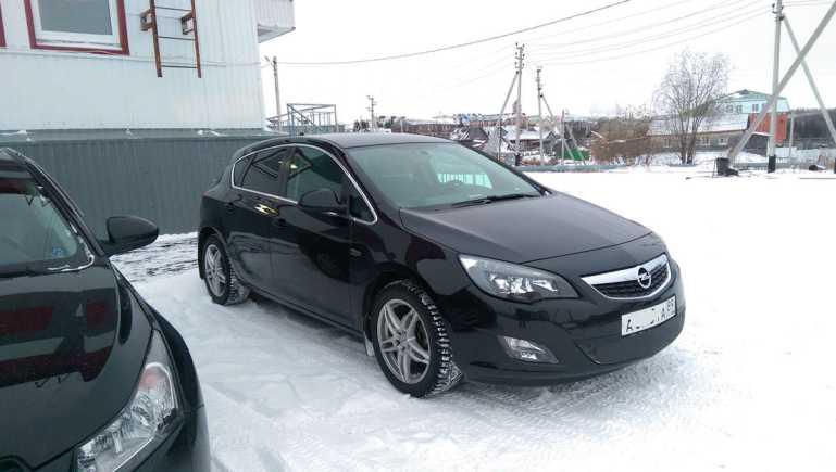 Opel Astra, 2012 год, 670 000 руб.
