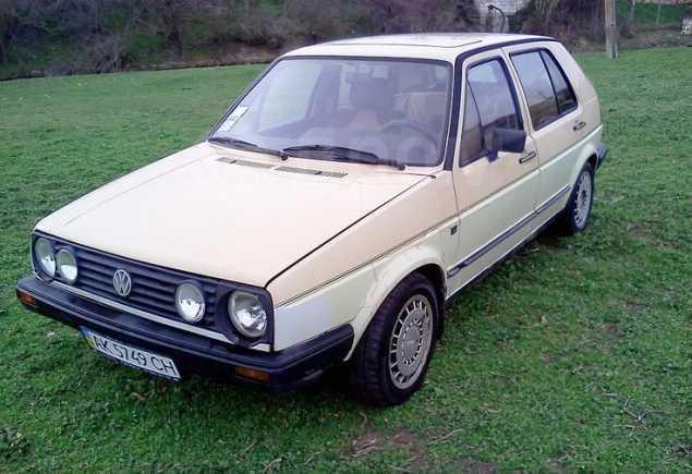 Volkswagen Golf, 1986 год, 93 910 руб.