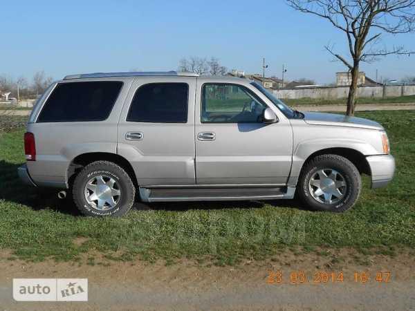 Cadillac Escalade, 2005 год, $18500