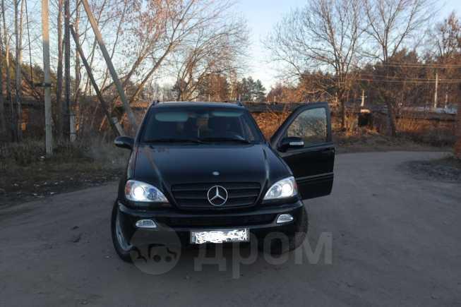 Mercedes-Benz M-Class, 2003 год, 499 000 руб.