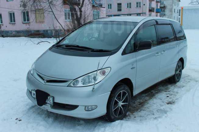 Toyota Estima, 2005 год, 580 000 руб.