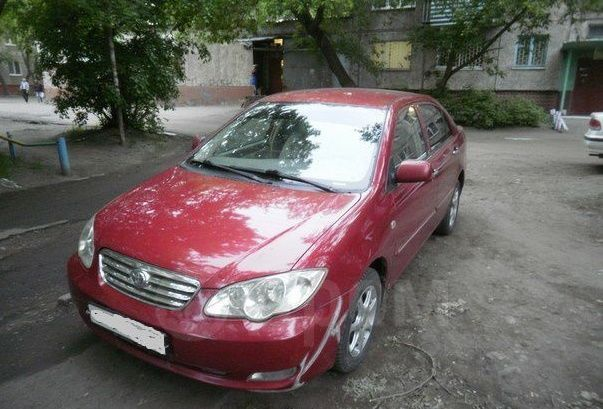 BYD F3, 2007 год, 165 000 руб.