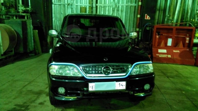 SsangYong Musso, 2002 год, 680 000 руб.