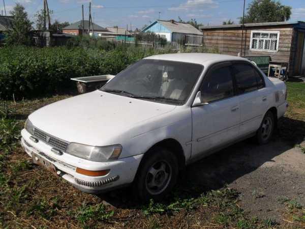 Toyota Corolla, 1992 год, 113 000 руб.