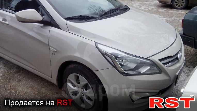 Hyundai Accent, 2014 год, 528 246 руб.