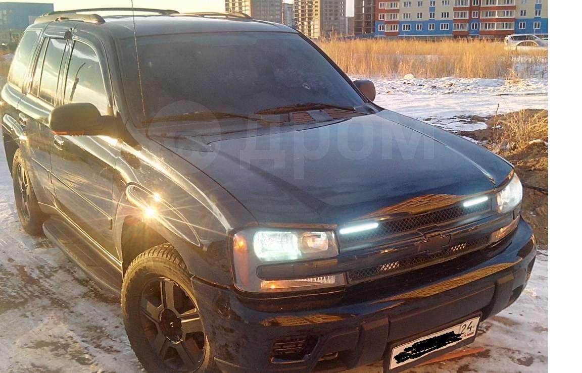 Продам Шевроле Трейлблейзер 2005 года в Красноярске, настоящий мужской автомобиль, максимальная ...