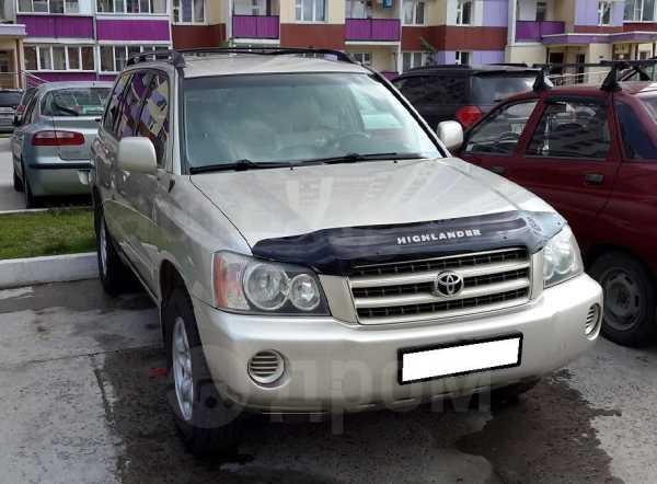 Toyota Highlander, 2003 год, 620 000 руб.