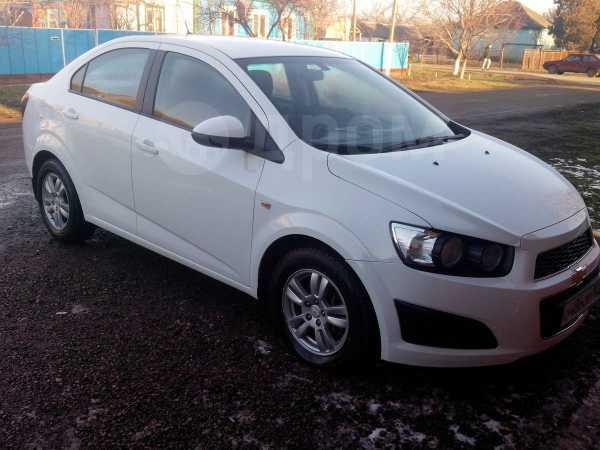 Chevrolet Aveo, 2012 год, 467 000 руб.