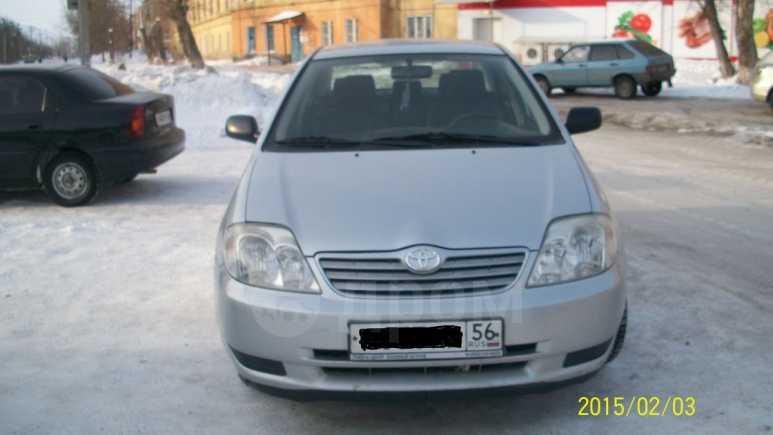 Toyota Corolla, 2003 год, 275 000 руб.