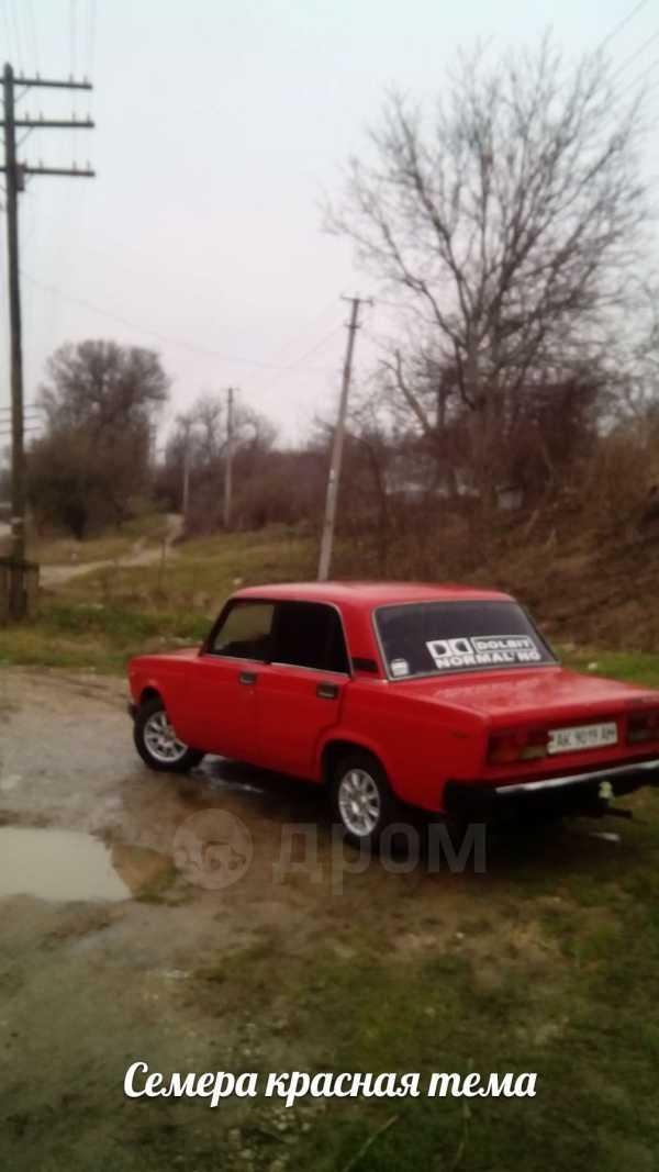 Лада 2107, 1986 год, 55 000 руб.