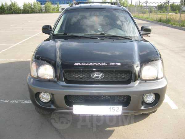Hyundai Santa Fe, 2003 год, 494 000 руб.