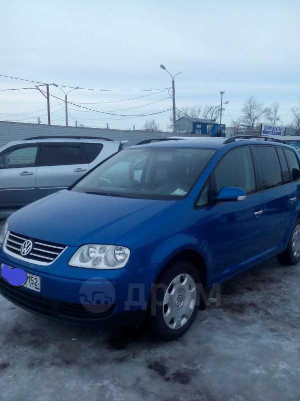 Volkswagen Touran, 2004 год, 439 000 руб.