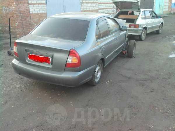 Hyundai Accent, 2004 год, 60 000 руб.