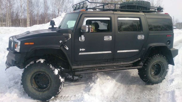 Hummer H2, 2002 год, 1 370 000 руб.