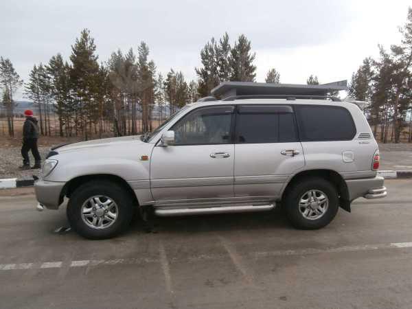 Toyota Land Cruiser, 2001 год, 970 000 руб.