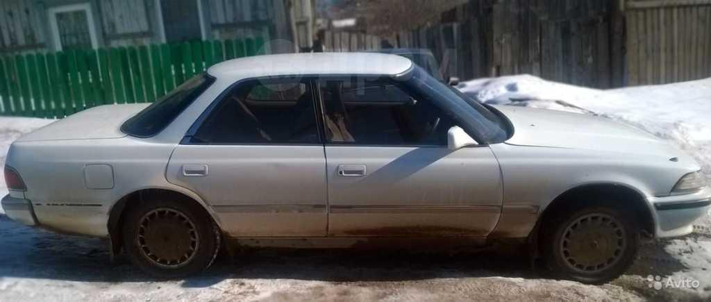 Toyota Mark II, 1990 год, 80 000 руб.