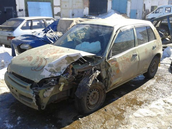 Toyota Starlet, 1998 год, 65 000 руб.