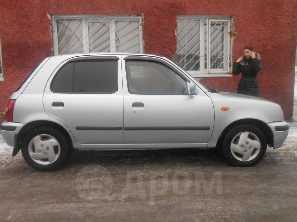 Nissan March, 1998 год, 119 000 руб.