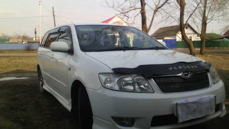 Toyota Corolla Fielder, 2004 год, 360 000 руб.
