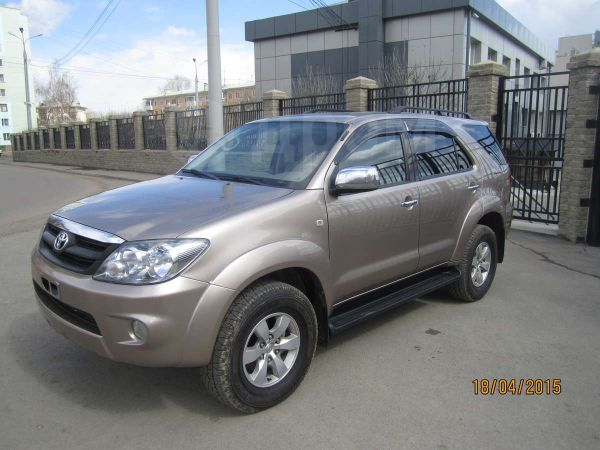 Toyota Fortuner, 2007 год, 1 000 000 руб.