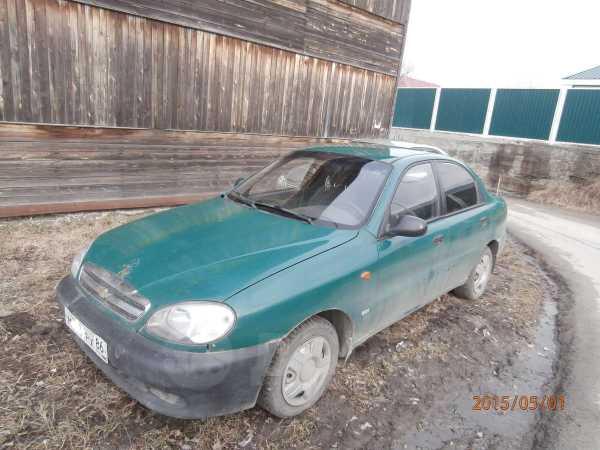 Chevrolet Lanos, 2007 год, 111 000 руб.