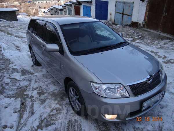 Toyota Corolla Fielder, 2004 год, 330 000 руб.