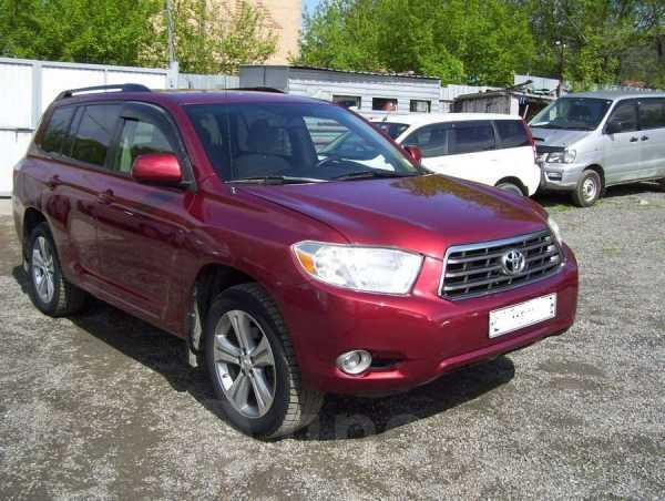 Toyota Highlander, 2008 год, 1 035 000 руб.