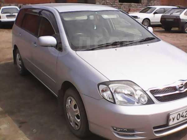 Toyota Corolla Fielder, 2003 год, 365 000 руб.